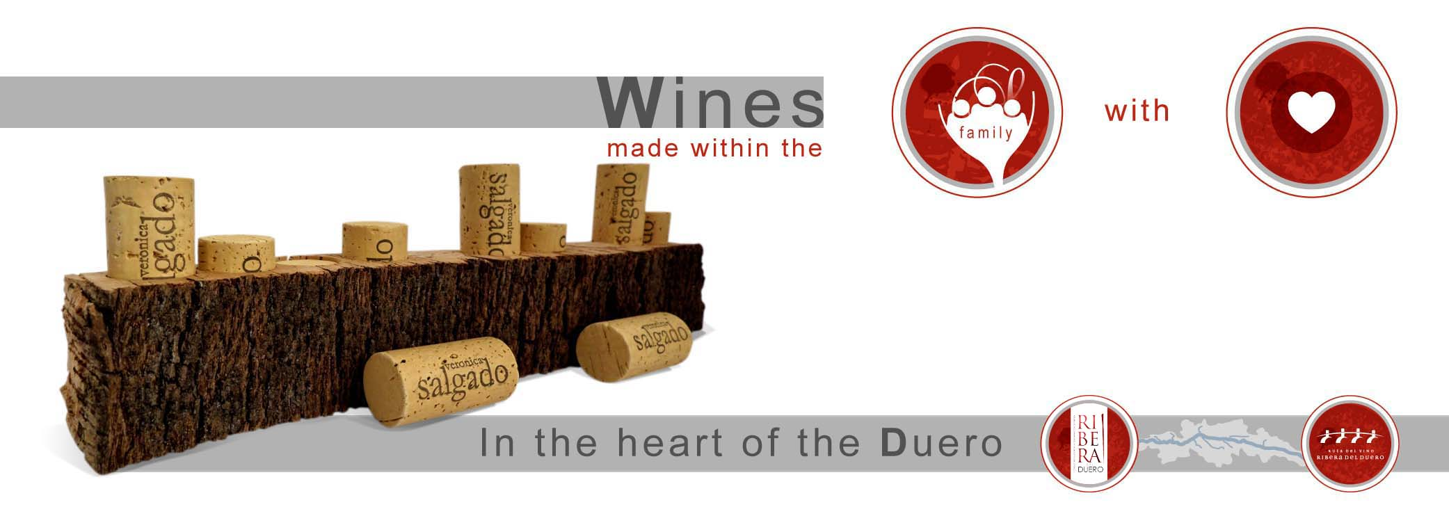 Wines made within the family with heart | In the heart of the Duero river